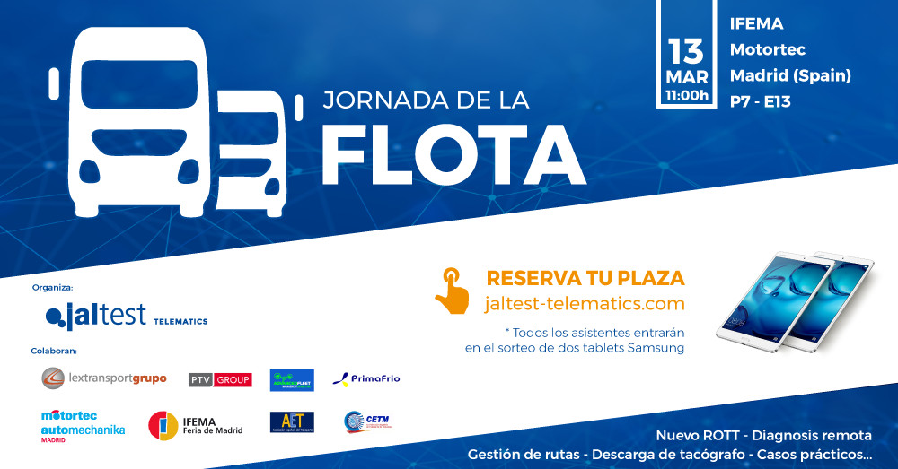 "Cojali Group organises the 1st edition of the ""Fleet Day"" during MOTORTEC AUTOMECHANIKA MADRID"
