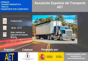 "Cojali Group collaborates with the Spanish Transport Association AET in the ""Energy Saving for road transport"" day"